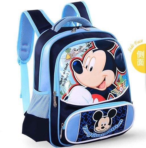 4 Color Children School Bags Cartoon Backpack Baby Toddler Kids Nylon Mochila Bag Kindergarten Rucksacks In From Luggage On