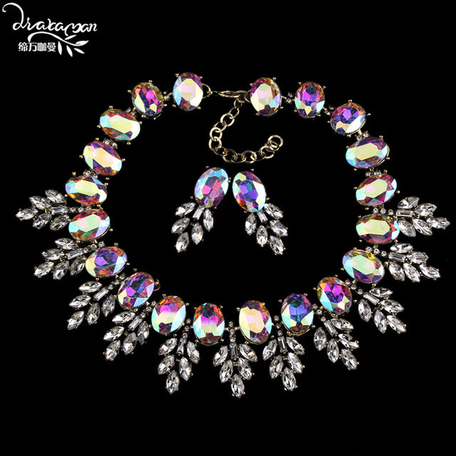 Women Statement Jewelry Set