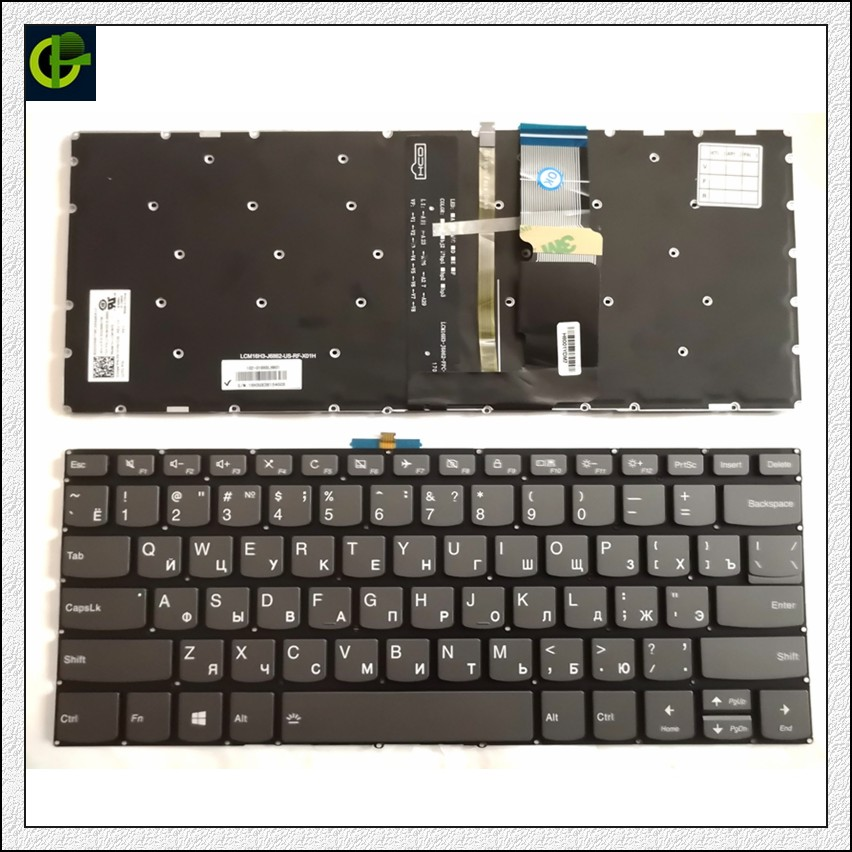 Original New Russian Backlit Keyboard For Lenovo Yoga 720 15 720-15 520 14 520-14 520-14IKB 720-15ISK 720-15IKB RU