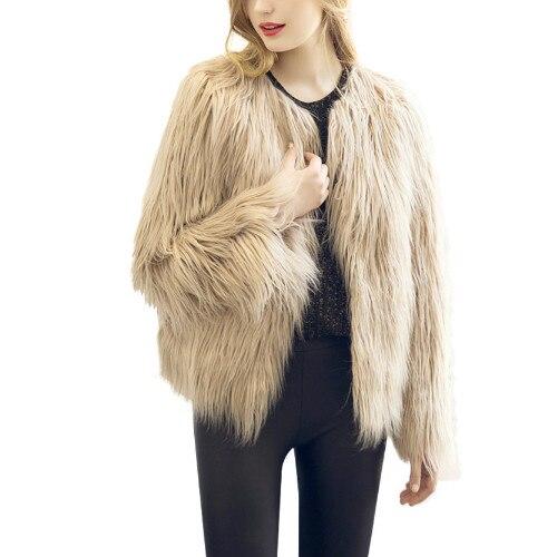 Lanxirui fourrure décontracté fourrure femme court rose hiver vêtements fête fourrure Overcoa veste femmes fourrure gilets manteau Nov27