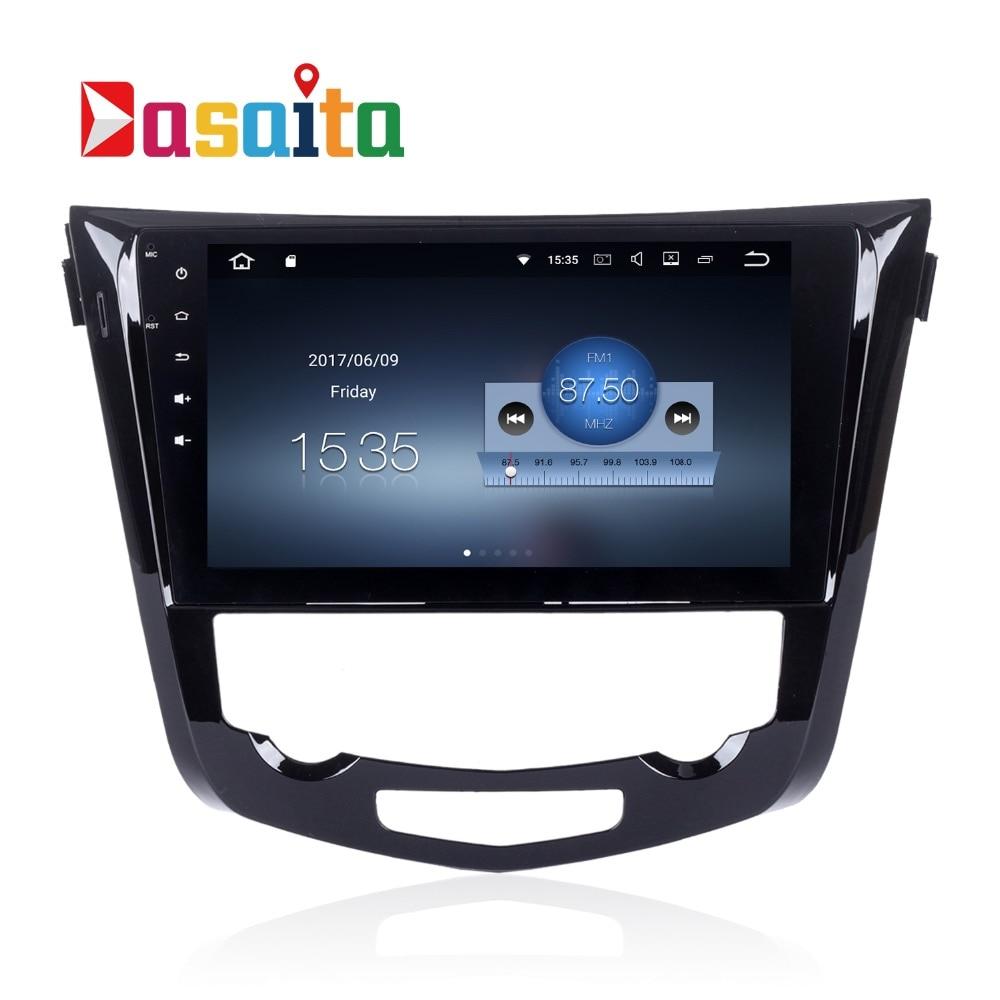 Qashqai Radio X-Trail 2014 2015 headunit pour Qashqai Android Audio GPS stéréo headunit Radio WIFI navigateur carte 1.6 GHz TDA7850 RDS