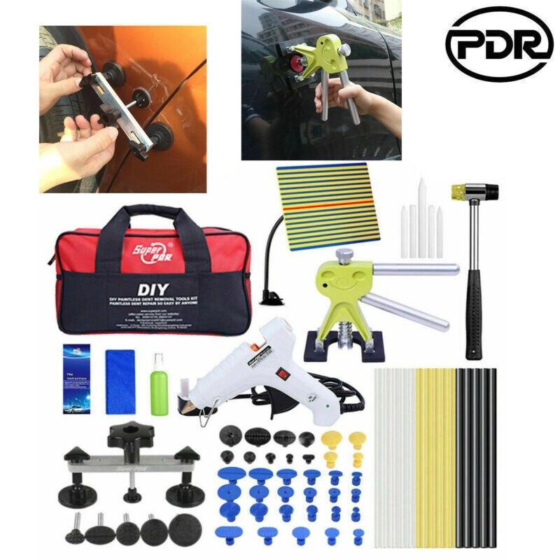 PDR Tools Paintless Dent Removal Dent Lifter Puller Bridge Hail Repair Glue Gun Tools Car Body Dent Remover Repair Puller Kit
