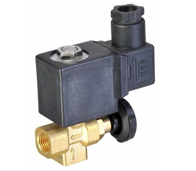 1/4 2/2 way Normally closed type Steam brass solenoid valve 1 2bspt 2position 2way nc hi temp brass steam solenoid valve ptfe pilot