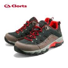 Открытый Пеший Туризм Ботинки Clorts замши восхождение Обувь Для мужчин Водонепроницаемый Mountain Треккинговые ботинки HKL-815