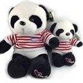 30 CM Red Stripe marinha uniforme Panda brinquedos de pelúcia recheado criativo boneca macia brinquedo Panda gigante de bebê favorito preço de fábrica NT031E