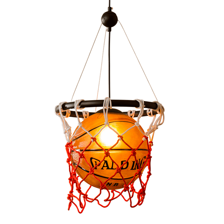 Detail Feedback Questions About American Basketball Pendant Lights Gl Hanging Lamp Vintage Light For Children S Room Bedroom Bar Sports Home Lighting
