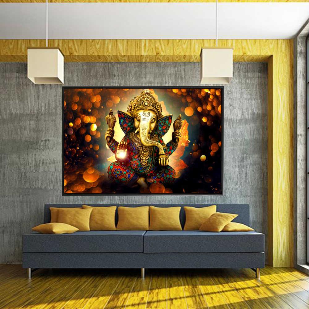 SPLSPL Hindu Wand kunst Leinwand Shiva Hindu Götter Poster Und Drucke Religion Wand Kunst Dekorative Bilder Für Wohnzimmer Decor