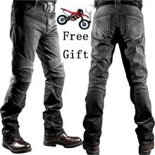 где купить 2018 New Motorcycle Pants Men Moto Jeans Protective Gear Riding Touring Motorbike Trousers Motocross Pants Pantalon Moto Pants по лучшей цене