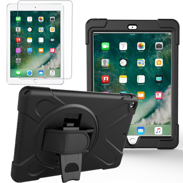 GZERMA Rugged Kickstand Armour Shockproof Case For new ipad 9.7 2017 2018