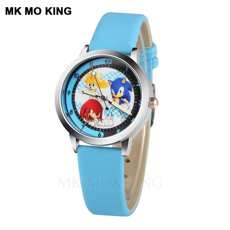 Boys And Girls Cute Animal Cartoon Children's Watch Fashion Jelly Leather Pink Quartz  Wristwatches Children Watches Best Gift