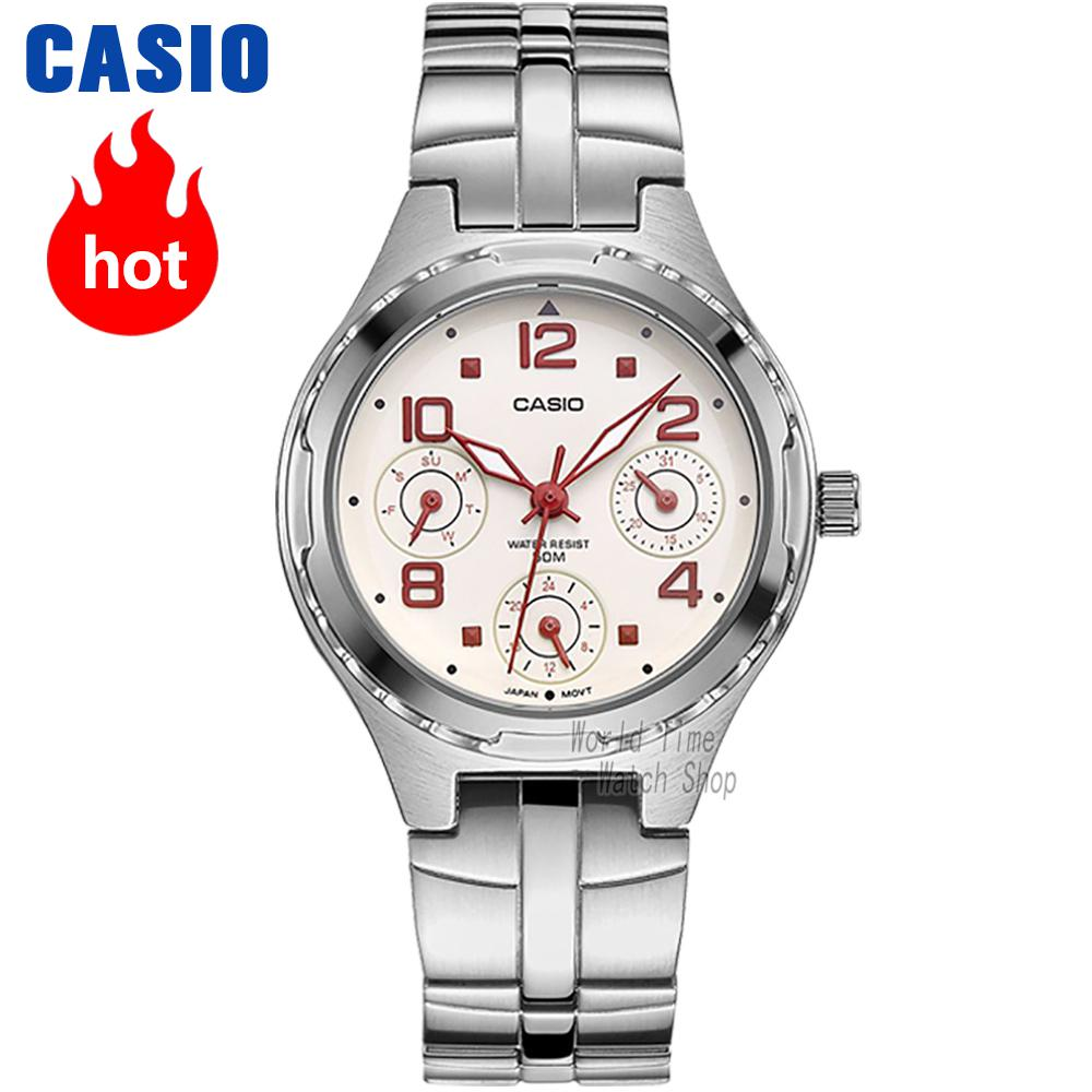 Casio watch Fashion casual quartz waterproof ladies watch LTP-2064A-7A2 LTP-2069D-6A casio watch 2018 new fashion trend quartz watch simple fashion waterproof strip ladies watch women watch ltp 1410l ltp 1410d