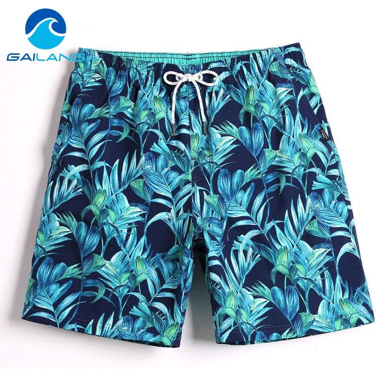 Gailang Brand Men Board Shorts Beach Swimsuits Swimwear Mens Active Bermudas Sweatpants Man Boxers Trunks Quick Dry Bottoms
