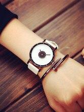 Luxury Brand Fashion Casual wristwatches Unisex Leather Steel Strap Minimalist Creative watch Men Newly Design Quartz relogi