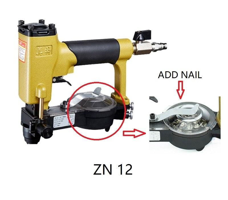 NEW Automatic Pneumatic Pins Gun Pins Staplers Air Tools Air Stapler for Make sofa / furniture Meite ZN12