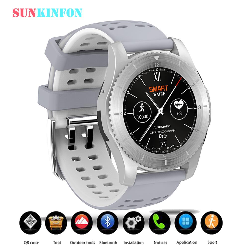 Smart Watch Phone SG8 BT4.0 Sport Wristwatch With Heart Rate Pedometer 2G SIM Card for Samsung Galaxy S8 Plus S7 edge S6 Edge S5 active stylus pen capacitive touch screen for samsung galaxy s8 s7 s6 edge s8 plus s5 s4 s9 g9500 g930v g920f mobile phone pen