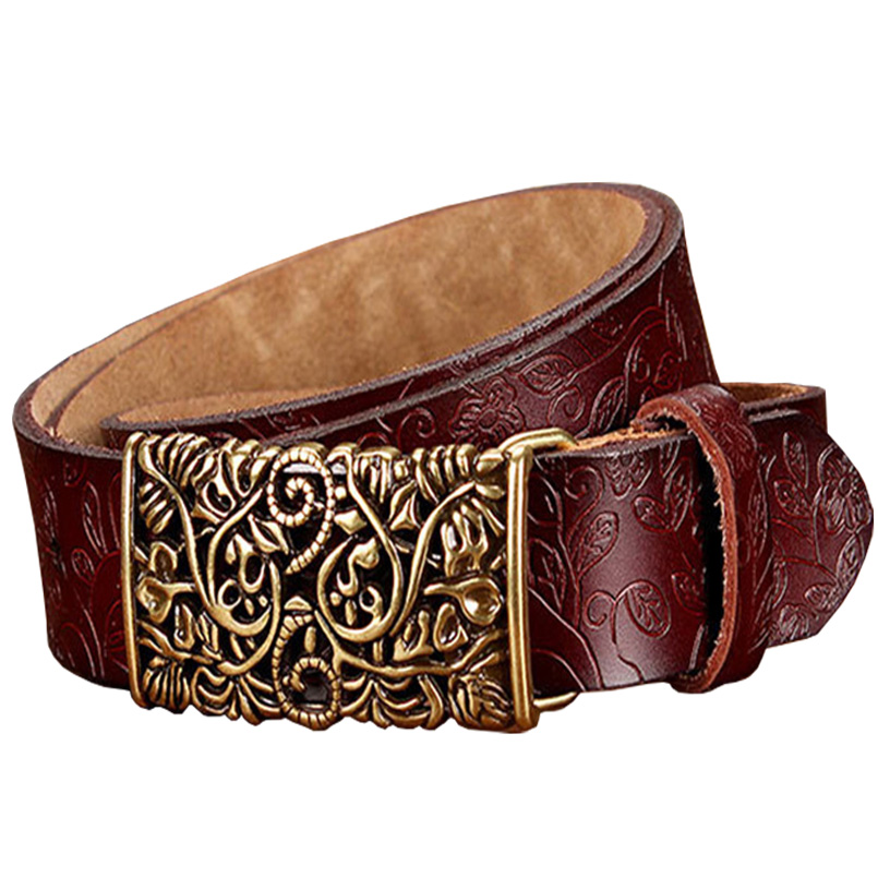 fashion cow leather belts and cummerbunds