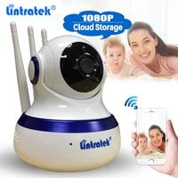 Lintratek Cloud Storage Wireless CCTV Security Camera HD 1080P WiFi IP Camera PTZ Baby Monitor Two