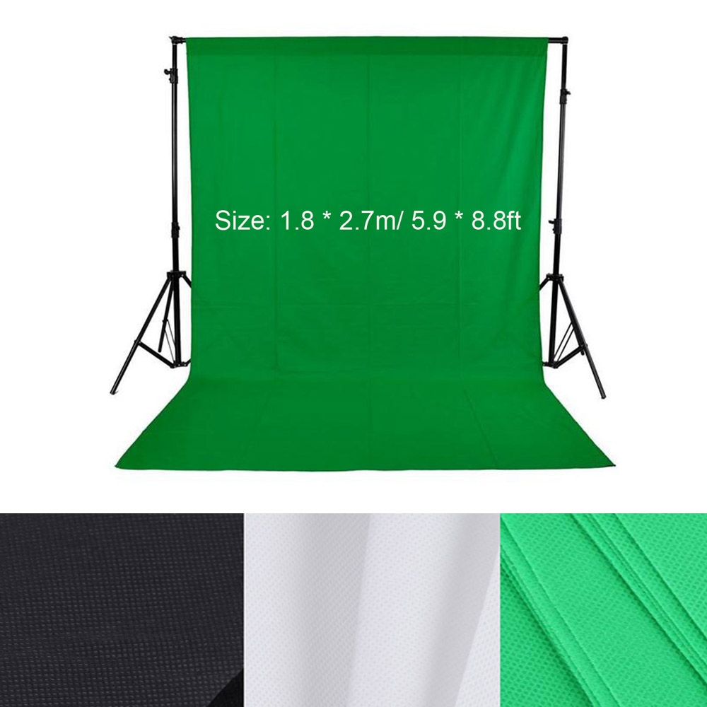 1.8*2.7m/5.9*8.8ft Photo Background Photography Backdrops Backgrounds for Photo Studio Green Screen Photography Background(China)