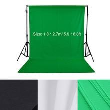 1,8*2,7 м/5,9* 8.8ft фото фон для фотоснимков для фотостудии зеленый экран фотографии фон