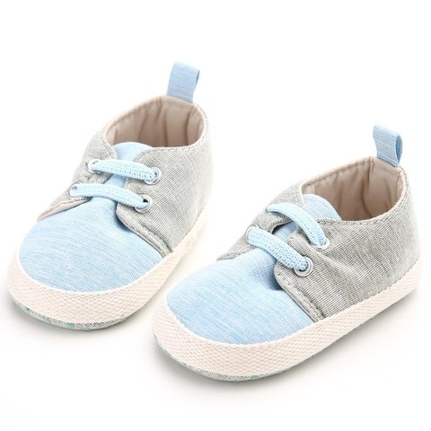 Baby Shoes Breathable Canvas Shoes 0-1 Years Old Boys Shoes Comfortable Girls Baby Sneakers Kids Toddler Shoes #06 Lahore