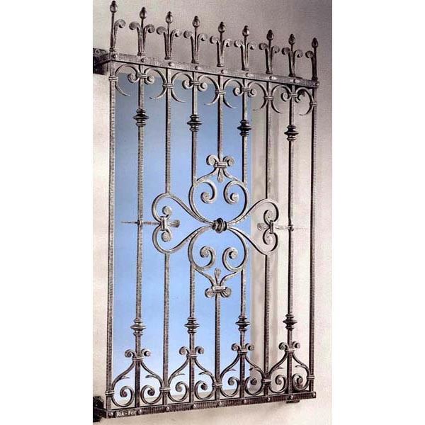 Wrought Iron Window Grill Design For Safety