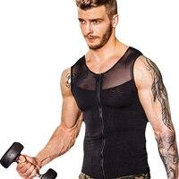 Men Shapers Ultra Sweat Thermal Muscle Shirt Neoprene Belly Slim Sheath Female Corset Abdomen Belt Shapewear