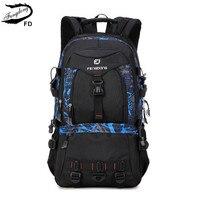 FengDong Large Sizes Men Travel Backpack 40l 35l 30l Male Big Travel Bag For Laptop Notebook