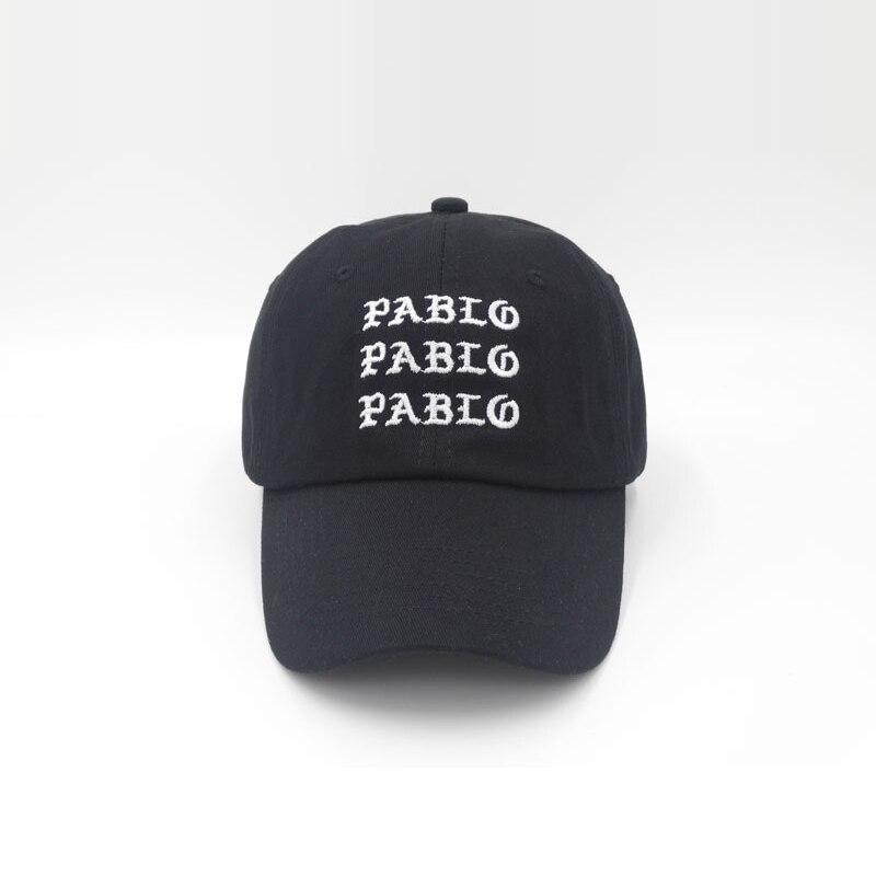 Di nuovo MI Sento Come Pablo Cappello Rosso Papà Berretto Da Baseball Kanye  Pablo ricamo papà 45f1cfae93ce