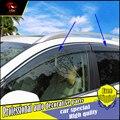 4 unids/set car styling ventanas de protección protección contra la lluvia cubierta para honda crv 2015 2016 acrílico ventana lluvia visera visera del coche decorar