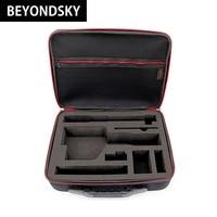 New Zhiyun Smooth Q Shoulder Bag Waterproof Case Handheld PTZ Stabilizer Suitcase Carry Box Hard Bag