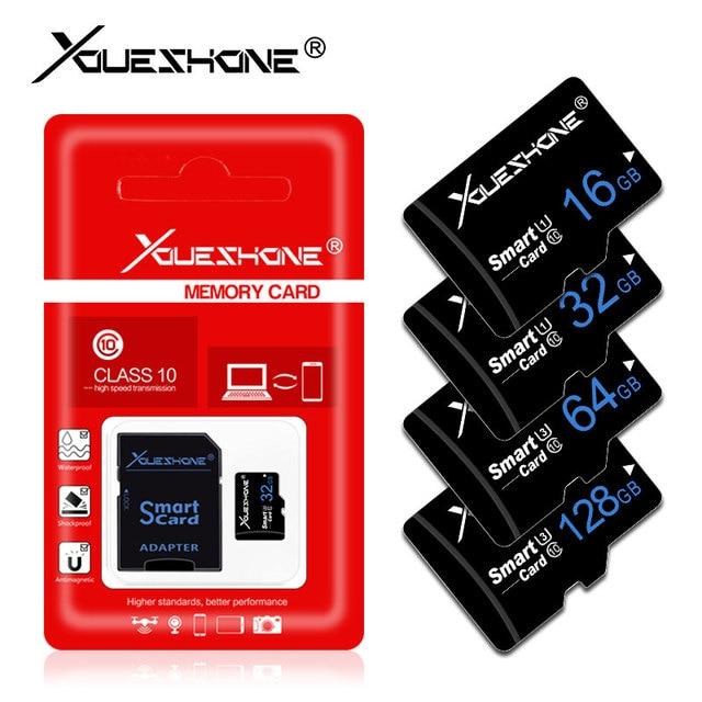 Chất lượng hàng đầu Micro SD Thẻ Nhớ 128 GB 64 GB 32 GB 16 GB 8 GB SDXC SDHC Micro SD Thẻ Cartao de Memoia cho Điện Thoại Thông Minh/Máy Tính Bảng/MÁY TÍNH