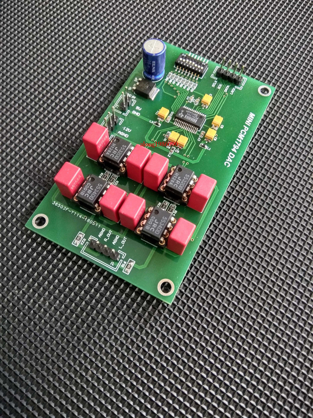 ZEROZONE Assembeld Mini PCM1794 DAC decoding board support P