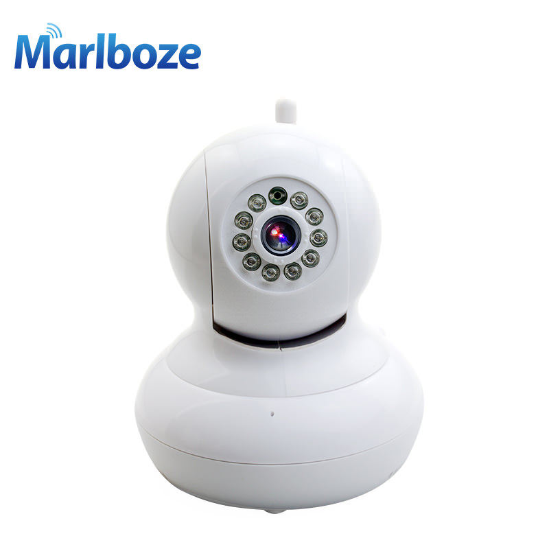 Marlboze 720P HD Wireless Security Surveillance CCTV Wifi IP Camera Onvif P2P IR-Cut Night Vision Indoor Baby Monitor Dome Cam home security ip wireless wifi camera surveillance 720p night vision cctv pt ir camara pan tilt hd onvif p2p cctv yoosee cam