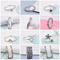 FirstQueen 100 Pure Silver 925 Jewelry Rings For Woman Engagement Ring Style Bijoux Fine Jewelry
