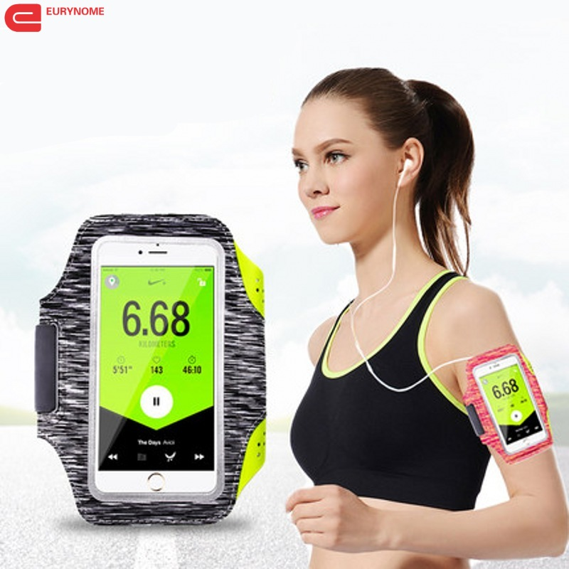 Armband For Iphone X XS 7 8 plus 6 6s plus For Samsung S8 plus S9 A8 A6 2018 Ultra-thin Soft Belt Travel Gym Running Bag Sports