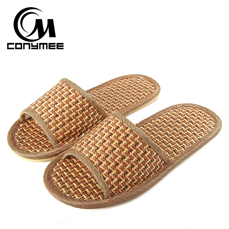 CONYMEE Men Flip Flops Summer Sandals 2018 Flat Shoes Casual Sneakers For Home Indoor Cane Slippers Mens Beach Sandalias Hombre