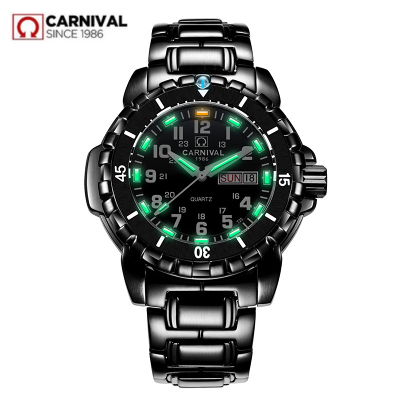 Waterproof 200M military diving watches men T25 tritium luminous luxury brand Switzerland Ronda quartz men watch full steel saat|saati| - AliExpress
