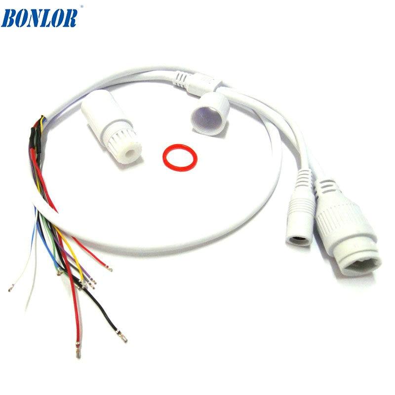 (10 шт.) высокое качество водонепроницаемый POE LAN кабель для CCTV IP камера плата модуль с всепогодным разъемом для Бесплатная доставка