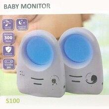 2016 Горячая 2.4 Г Цифровой Беспроводной Аудио Звук Baby Monitor поддержка Голосового Управления Baby Cry Детектор Intercomunicador Bebe