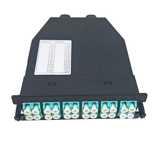FirstFiber MPO/MTP Cassette, 24 Fibers, MPO to LC Duplex, Full Loaded MPO ODF Rack, Multi mode OM1 OM2 OM3 OM4 optionalFirstFiber MPO/MTP Cassette, 24 Fibers, MPO to LC Duplex, Full Loaded MPO ODF Rack, Multi mode OM1 OM2 OM3 OM4 optional