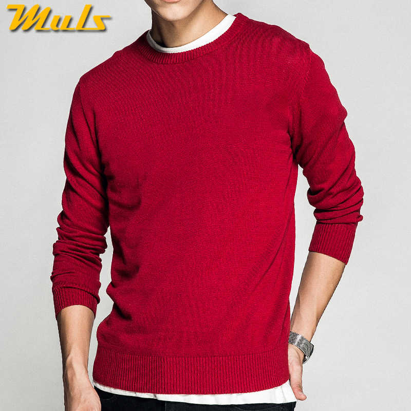 Plus Size 5XL O Neck Mens Sweater Pullovers Autumn Standard Wool knitted Christmas Sweater Jumpers Male Knitwear Red Black Grey