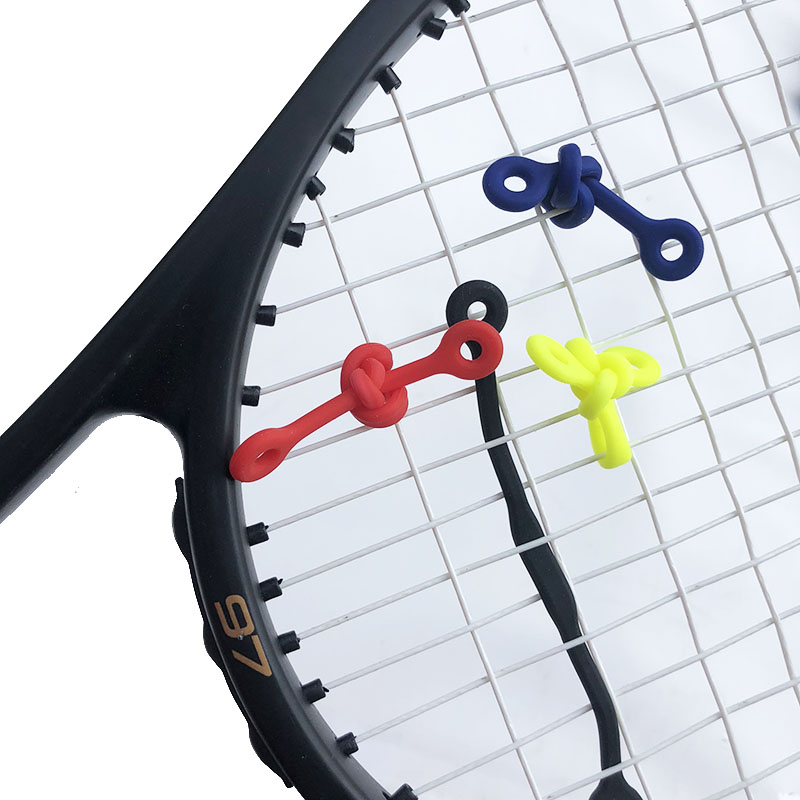 5pcs Silicone Tennis Damper Shock Absorber To Reduce Shock Tenis Racquet Vibration Dampeners Built-in/outlay