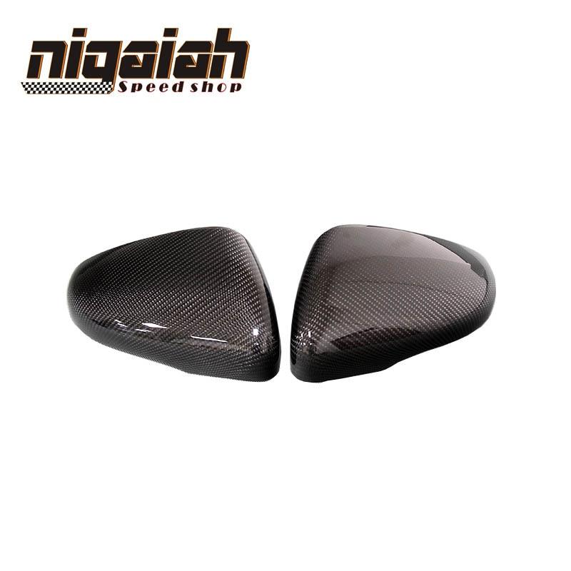 Carbon Rearview Mirror replacement for Volkswagen Golf 6 2009-2013 Bora 2013-2015 Tiguran 2011 Carbon fiber mirror Trim Cover