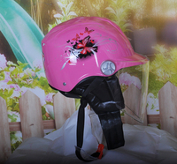 2017 High quality ABS butterfly flower helmet spring and autumn warm helmet Beautiful and safe riding helmet designed for women!