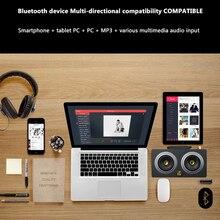 De Madera del altavoz 20 W Dual Bluetooth Altavoz Estéreo portátil Inalámbrico Super Bass de Altavoces Multimedia para Android Xiaomi Iphone7