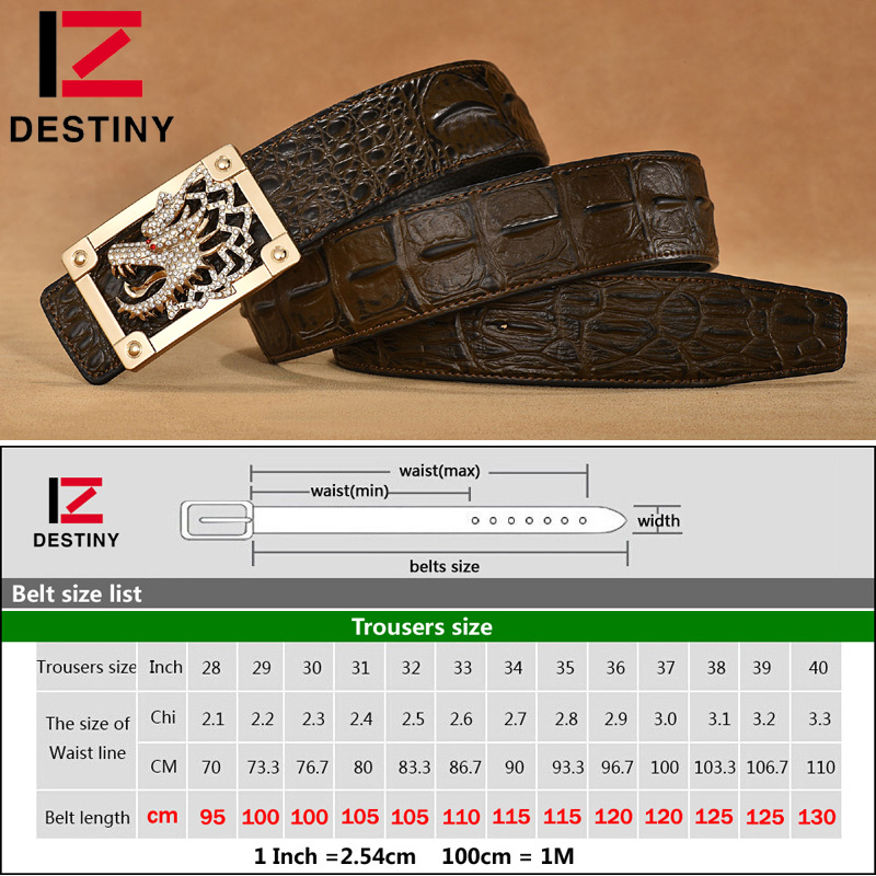 SCHICKSAL Designer Gürtel Männer Hohe Qualität Drachen Gürtel - Bekleidungszubehör - Foto 6