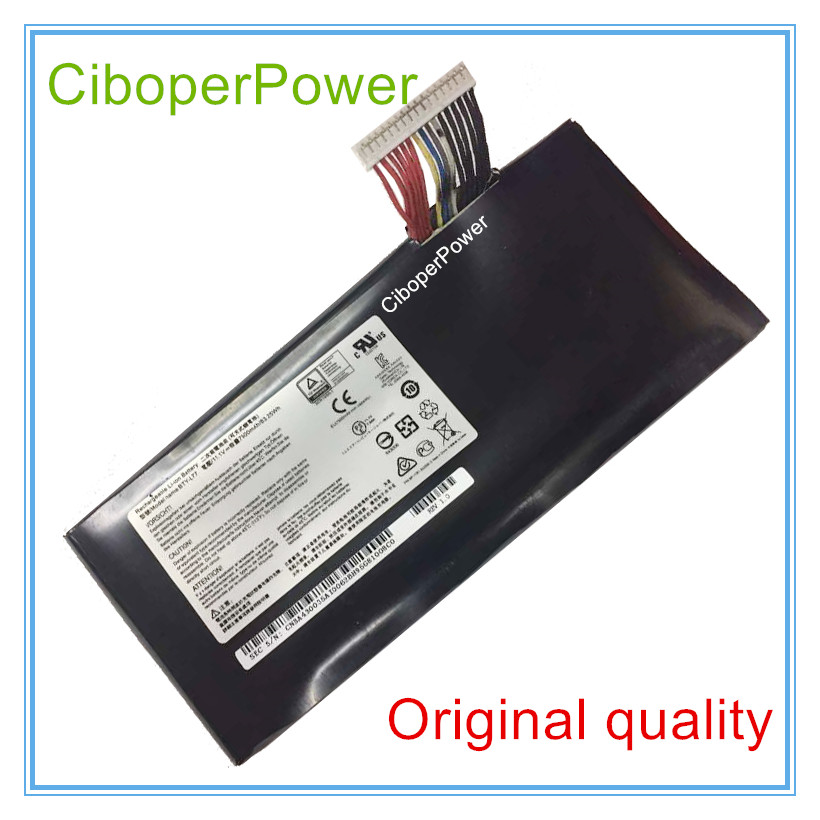 Original quality laptop battery BTY-L77 for 2PE-022CN GT72 GT72S GT72VR jigu bty l76 ms 1771 original laptop battery for msi gs70 2pc 2pe 2qc 2qd 2qe for medion x7613 md98802 haier 7g 700