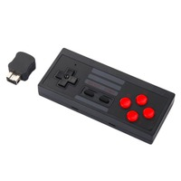 New Black NES Retro Wireless Handle With Receiver For SFC Version For PS3 And PS4 For