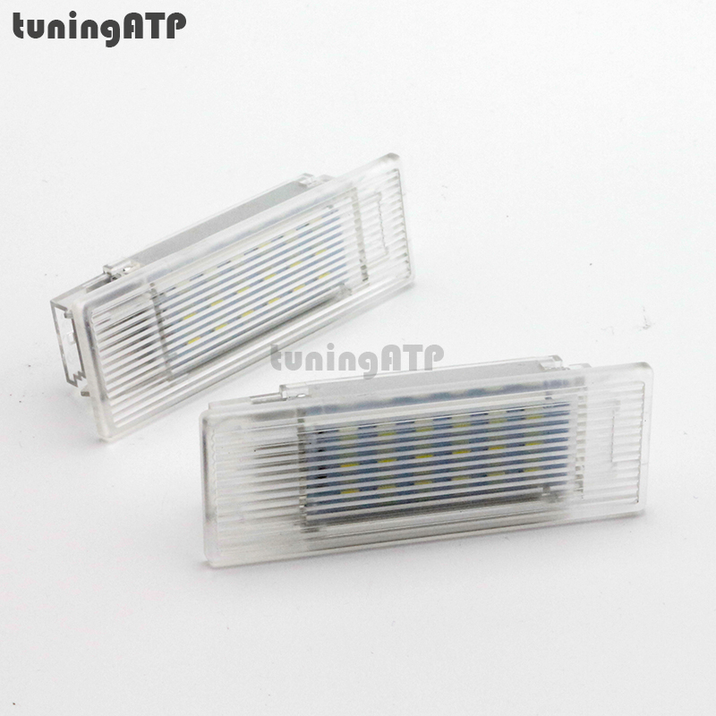 LED Luggage Compartment Trunk Boot Lights for BMW 5 Series F10 for volkswagen passat b6 b7 b8 led interior boot trunk luggage compartment light bulb