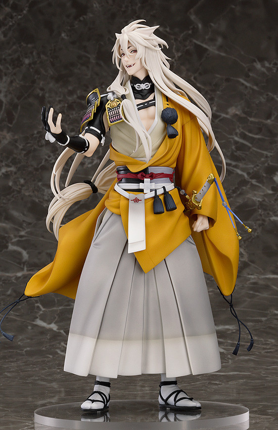 Anime Figure 23.5cm Touken Ranbu Online kogitsunemaru Fox Ball 1/8 Scale PVC Action Figure Collectible Model Toy touken ranbu online good smile face changable 511 mikazuki munechika nendoroid pvc action figure collectible model toy